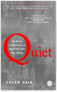 the book Quiet by Susan Cain