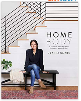 the book HomeBody by Joanna Gaines