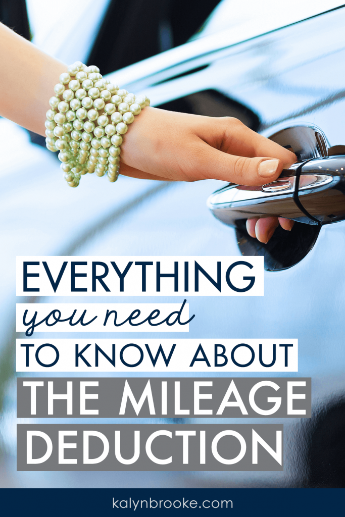 If you don't keep track of mileage, you could be missing out on some big tax deductions for both business AND personal drives! This in-depth post break downs exactly how the mileage deduction works, what you can deduct, and by far, the best mileage log to easily keep track of everything. It's unbelievable how much money you can legally write off, every year!