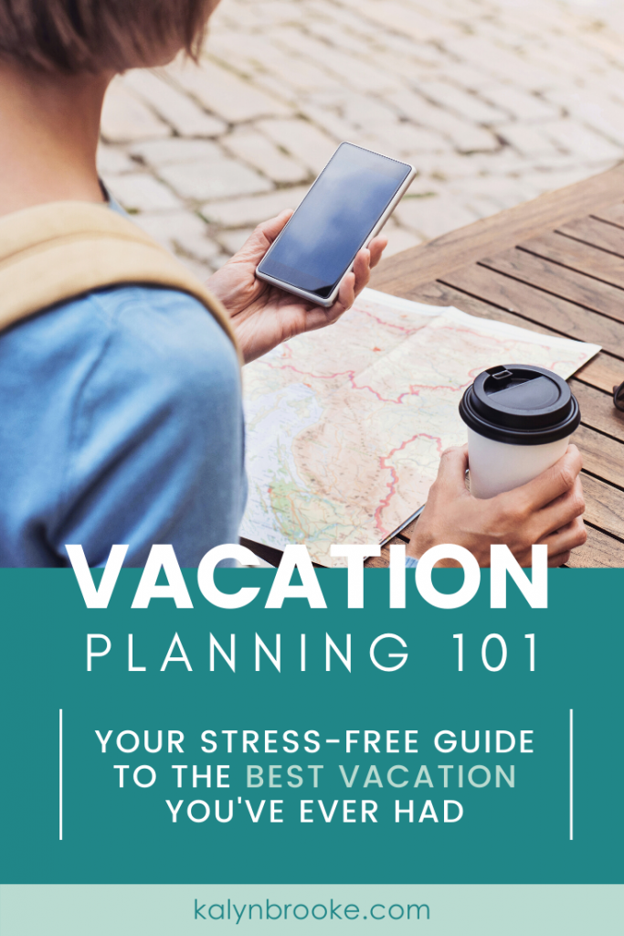 How to plan a vacation...the stress-free way! From picking the place, booking lodging, and deciding what to do, use this vacation planning checklist to create a customized itinerary your whole family will love.