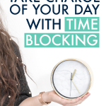 Time blocking revolutionized my life!! I can't believe how much this simple productivity tool affected how much I could accomplish in a single day. These tips (including a time blocking printable set!) are exactly what your looking for if you want to crush your goals and be more productive with your time. #timeblocking #productivity #productivitytips #dailyproductivity