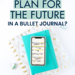 I almost gave up on bullet journaling because I couldn't stand that I didn't have an easy way to plan for my next dentist appointment (6 months in the future!). Then I realized I didn't have to feel guilty about using a hybrid method that allows me to marry the customizability of bullet journaling with the convenience of digital tools.
