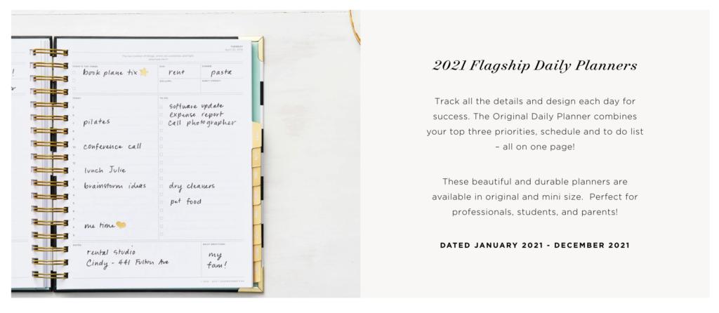 2021 Flagship planner