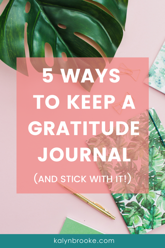 I know I SHOULD be more grateful, but the idea of cultivating the habit was so daunting to me! I didn't know where to start! Then I found these 5 easy ways to start keeping a gratitude log, and it all clicked. I tried an app or two, ordered a journal (one with prompts!), and found the way that works best for me in this season. Now I'm reaping the benefits of noticing the little things each day that I'm so grateful for!
