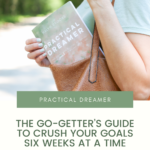 Through a unique blend of structure and flexibility, Practical Dreamer offers a fresh goal setting framework that will inspire you to create the life you've always wanted, starting in six short weeks. This book is written specifically to multi-passionate gals who set ALL THE GOALS at the beginning of the year, and then fizzle out by February because they've lost momentum or simply feel stuck. With this practical roadmap by your side, you'll learn how to crush every goal from beginning to end and finally turn your dreams into something real.