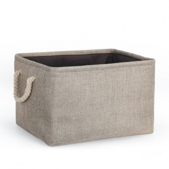 Collapsable Canvas Bin